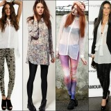 How To Wear A Tunic Top With Leggings